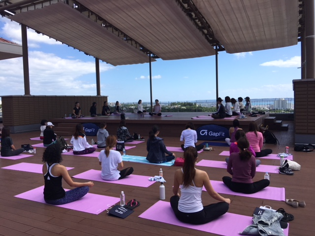 『Born to YOGA event』